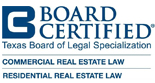 Board Certified Commercial & Residential Real Estate Law